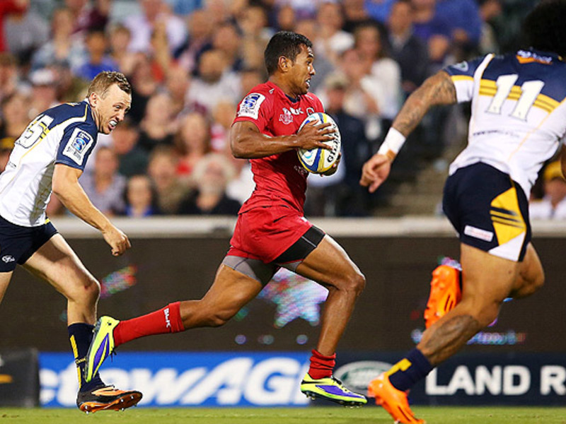 Large brumbies v reds