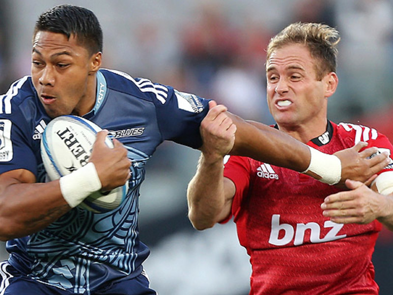 Large blues v crusaders