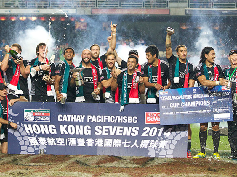 Large nz celebrate hk 7s win