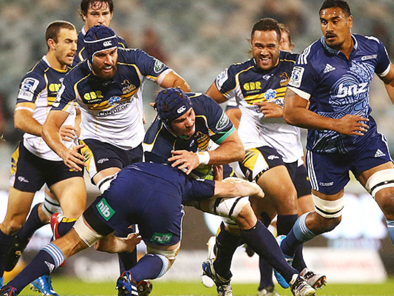 Large brumbies v blues