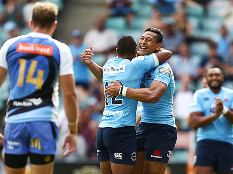 Large tahs victory