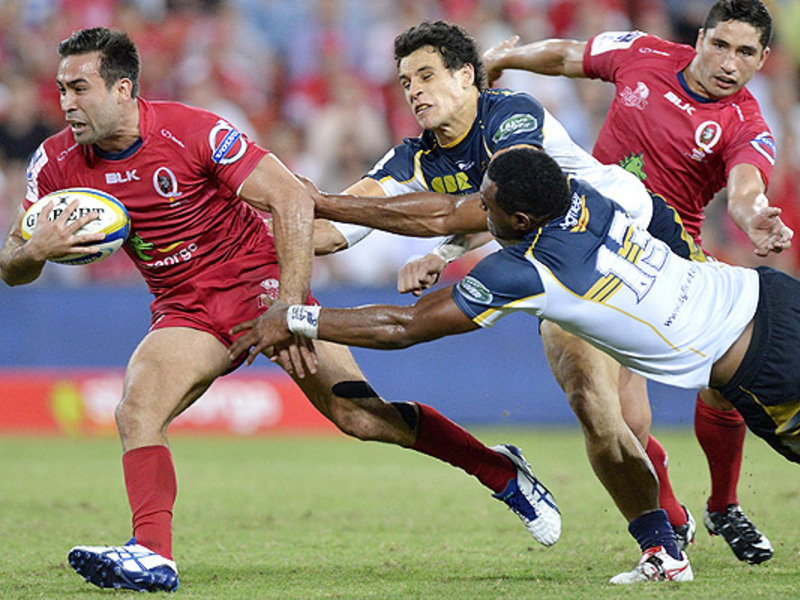 Large reds v brumbies