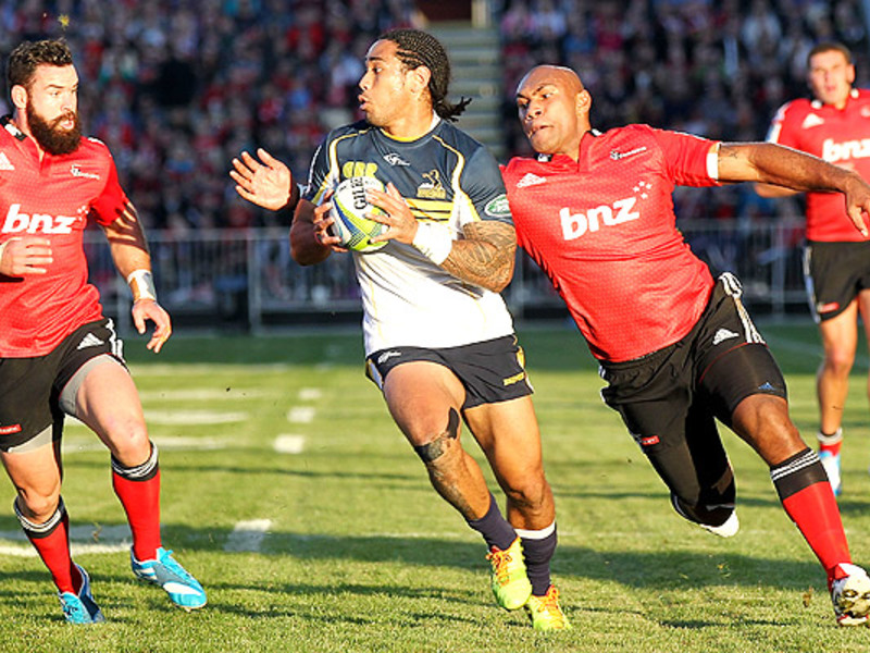 Large crusaders v brumbies