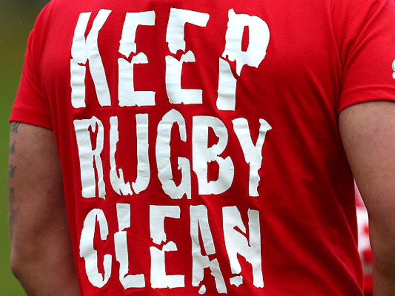 Large keen rugby clean shirt
