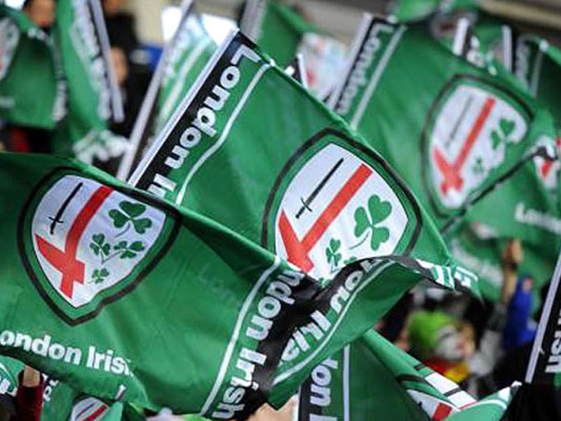 Large london irish flags