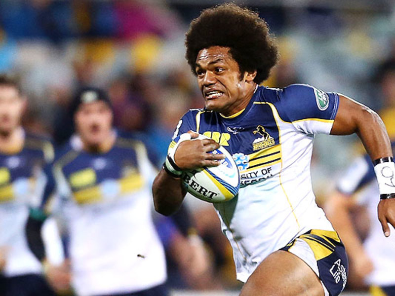 Large henry speight brumbies run