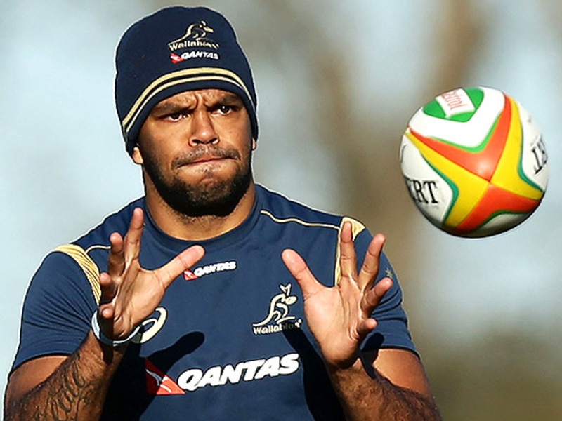 Large kurtley beale ball
