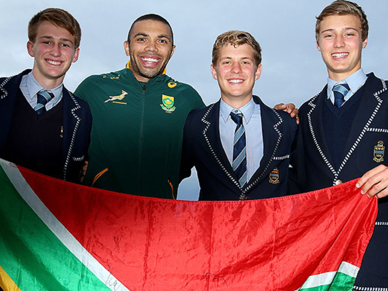 Large bryan habana with bok fans