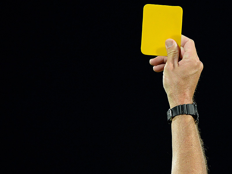 Yellow card general 800