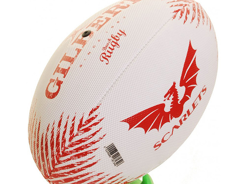 Large ball with scarlets logo2 800
