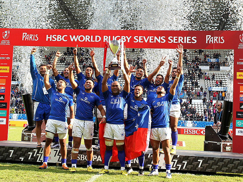 Samoa celebrate paris win 800