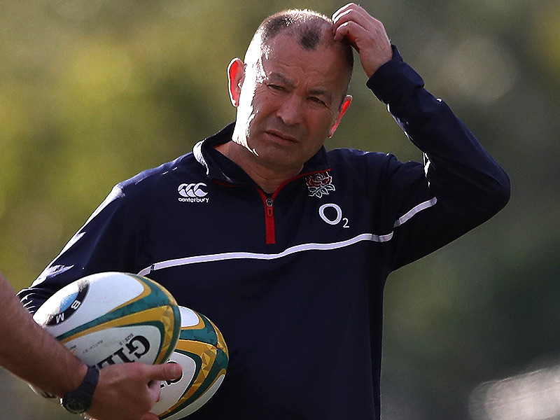 Large eddie jones england scratches head 800