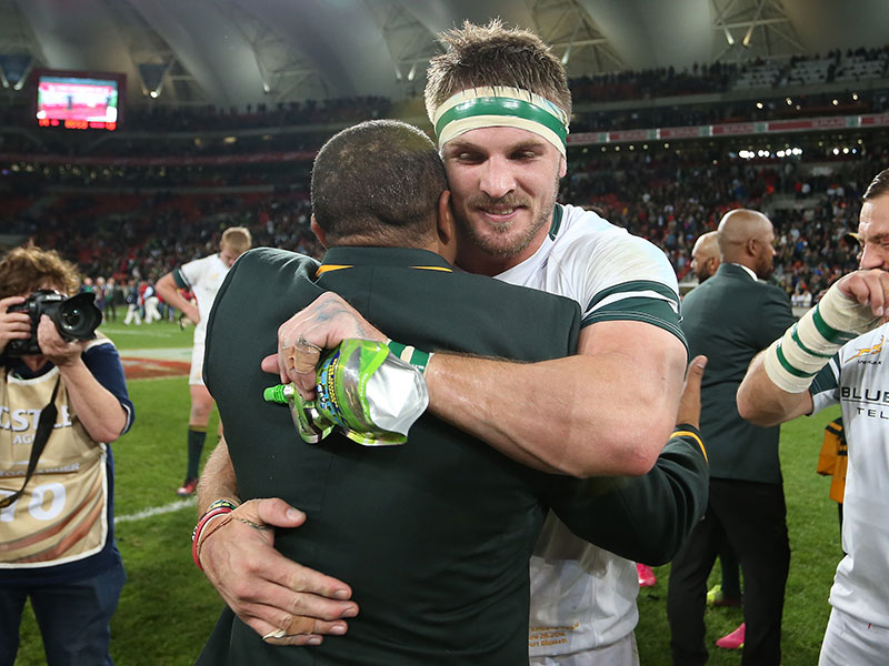 Jaco kriel and allister coetzee