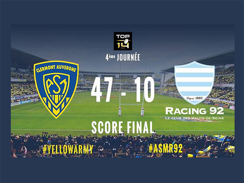 Large clermont v racing full time 800