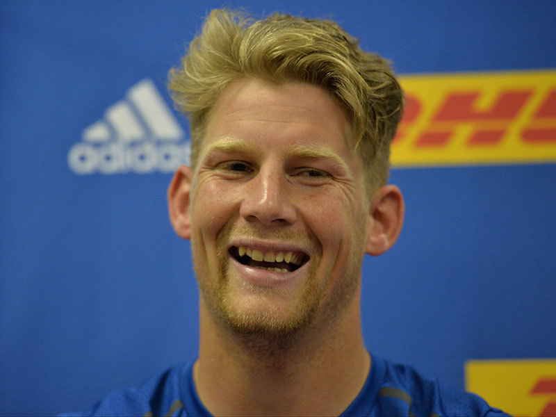 Large robert du preez smiling