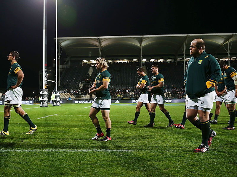 Large springbok players heads down 800