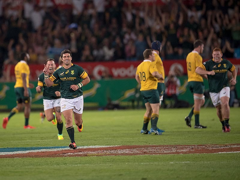 Large springbok players run 800