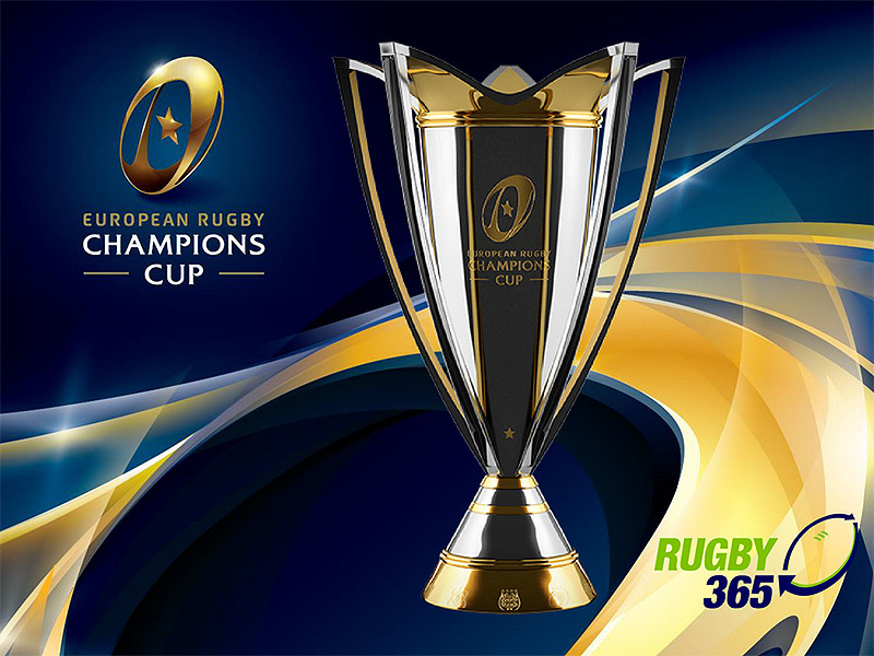 Large european champions cup trophy and logo 800