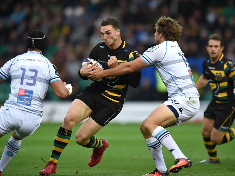 Large northampton saints v montpe