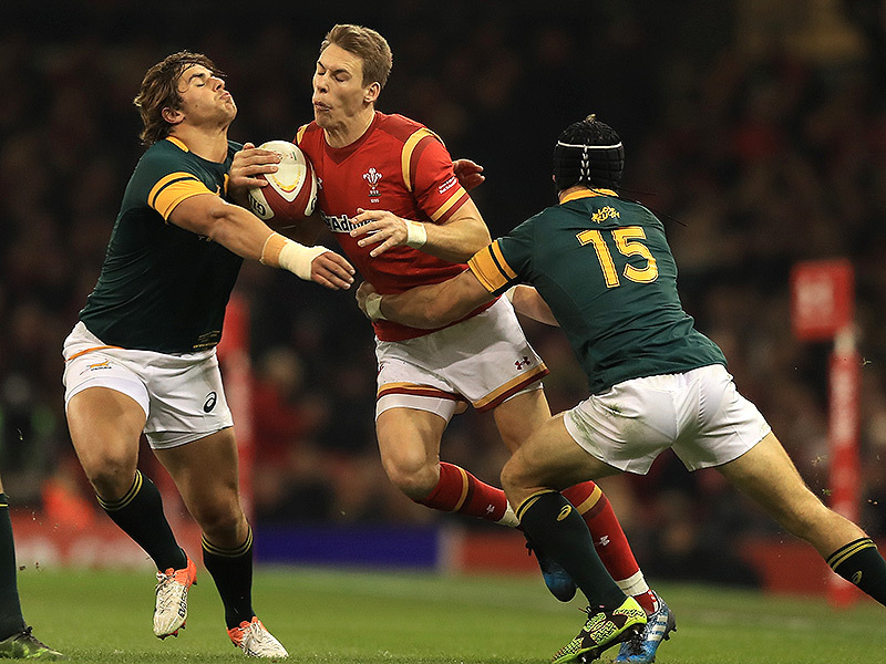Large wales v south africa match action 800