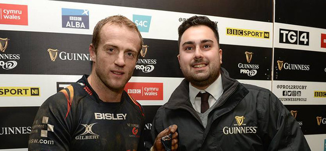 Mc article sarel pretorius newpoer gwent dragons man of the match 800