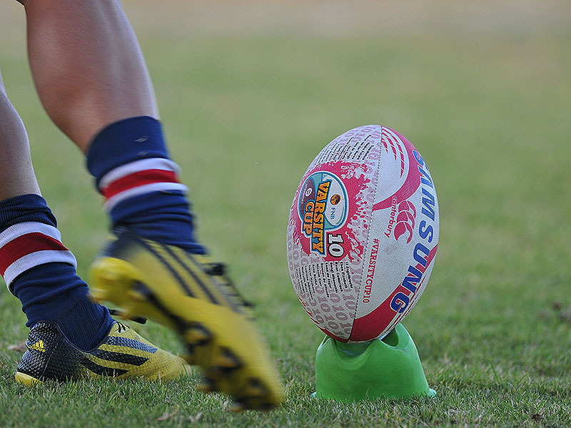 Large varsity cup ball kicked 800