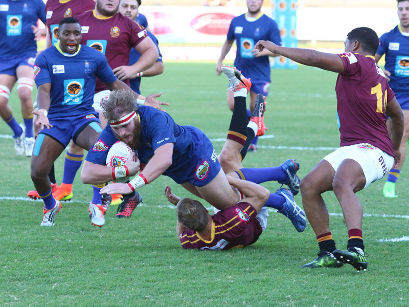 Large wits try v maties