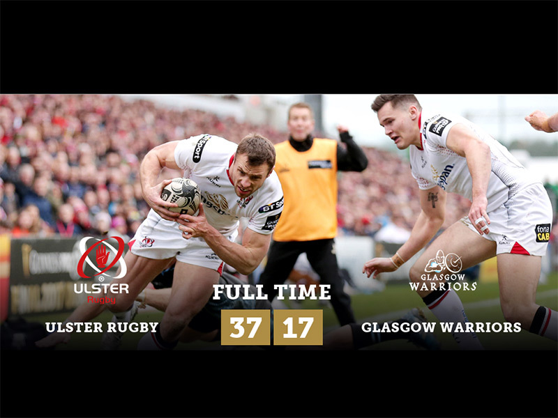 Large ulster v glasgow full time 800