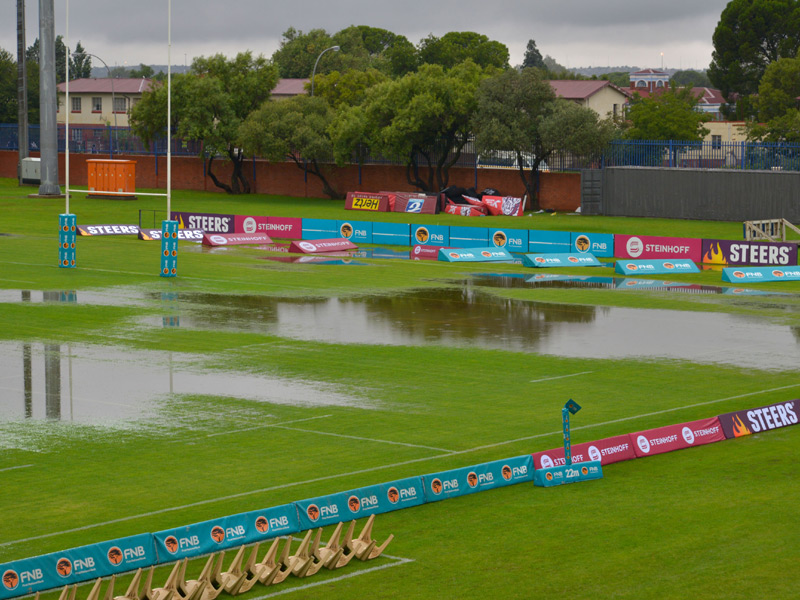 Water logged in bloem 800