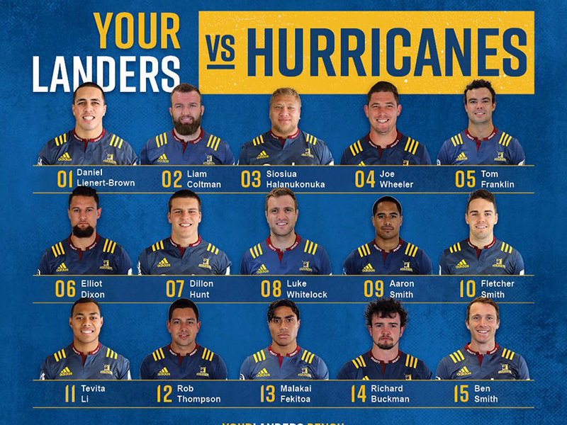 Large highlanders team to play hurricanes 18 3 2017 800