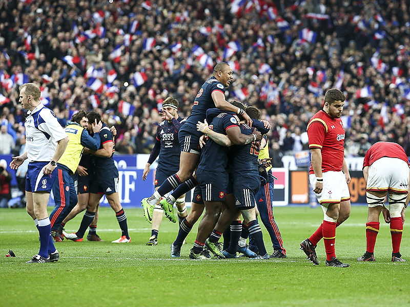 France six nations celebrate 800