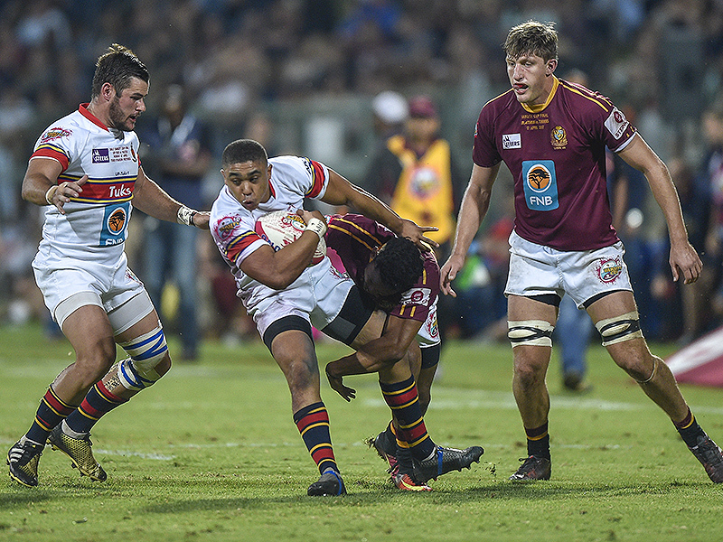Large dewald naude tuks tackled 800