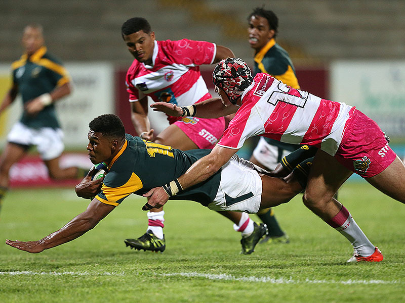 Large damian willemse junior boks try 800