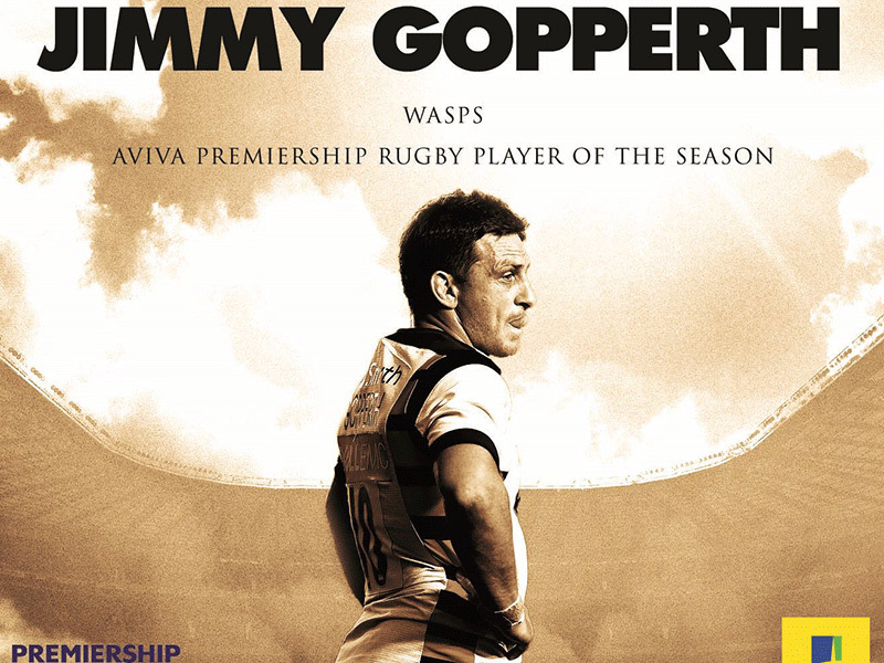 Large jimmy gopperth premiership awards 800