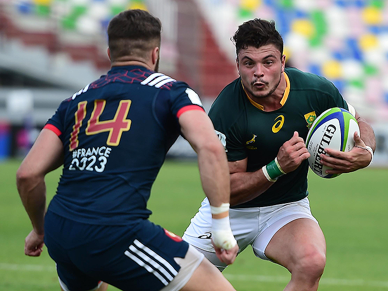 David brits junior springboks charge 800