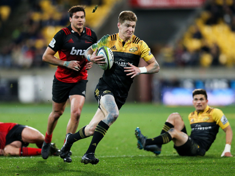 Jordie barrett v crusaders
