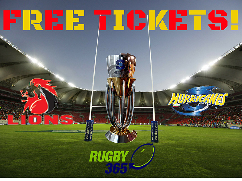 Free tickets   lions versus hurricanes 800
