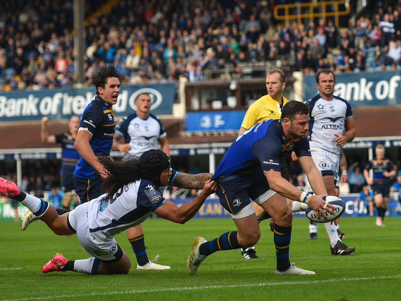 Large leinster v montpellier. 800