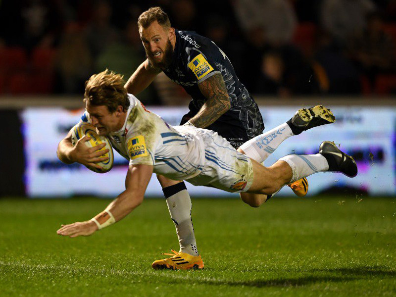 Large exeter chiefs v sale sharks