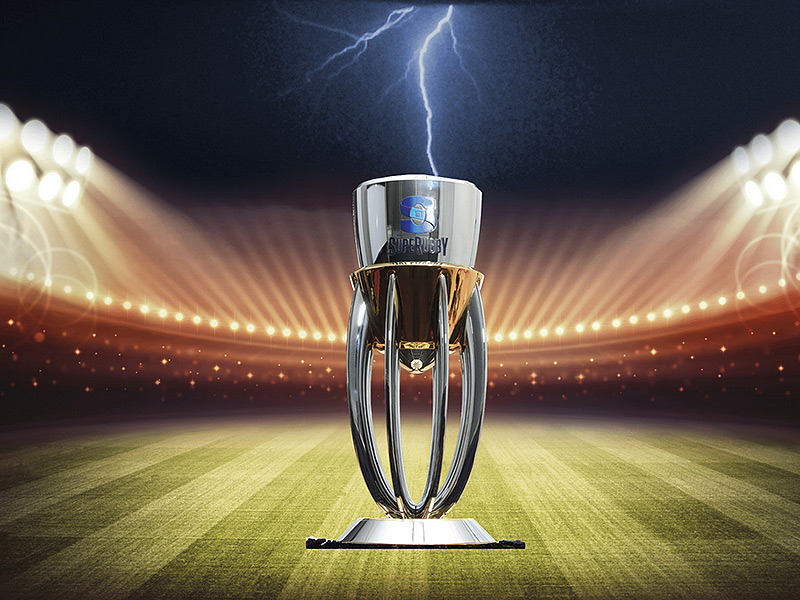 Super rugby trophy with background 800