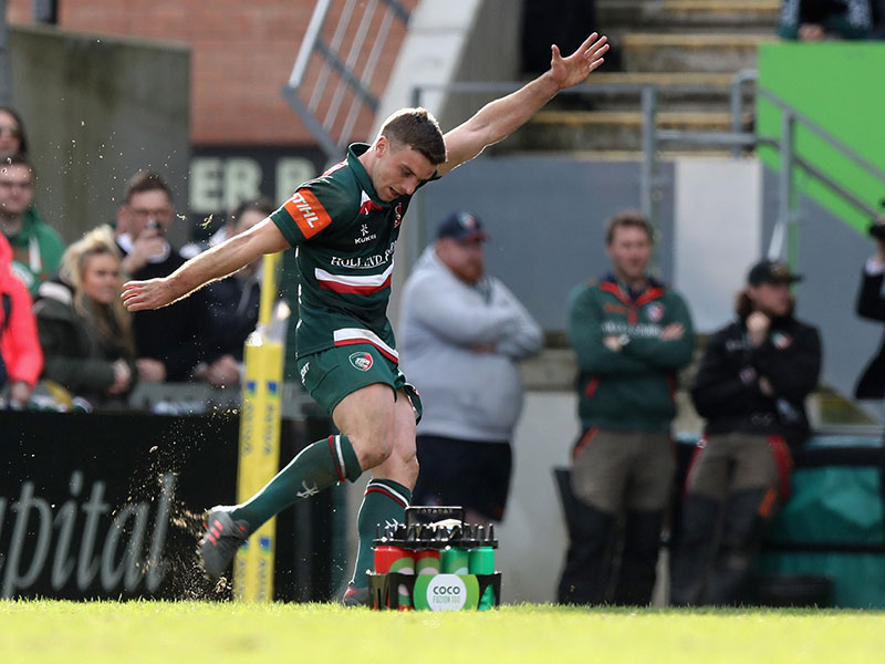 George ford leicester tigers  v wasps 2018 800