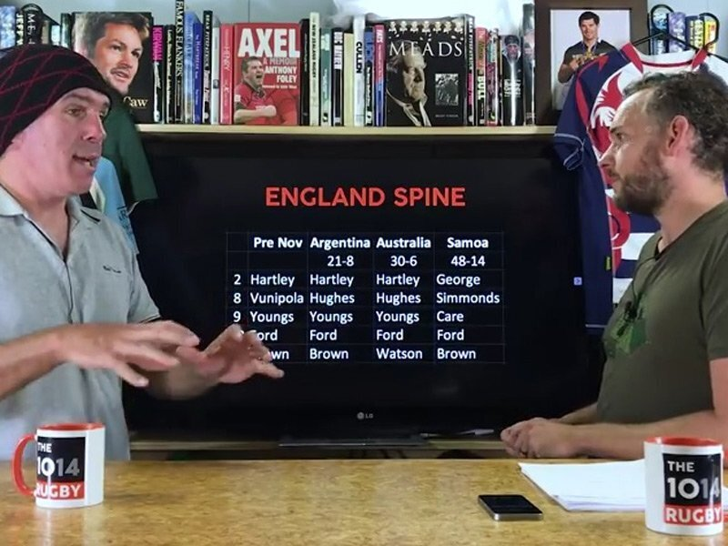 Video: November Test, the spine review - part two