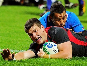 Wales run riot in New Plymouth