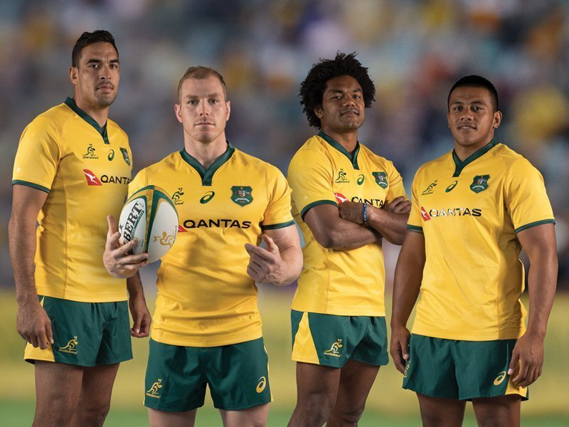98c5bed4806 Wallabies Unveil New Heritage Jersey - Australia | Rugby365