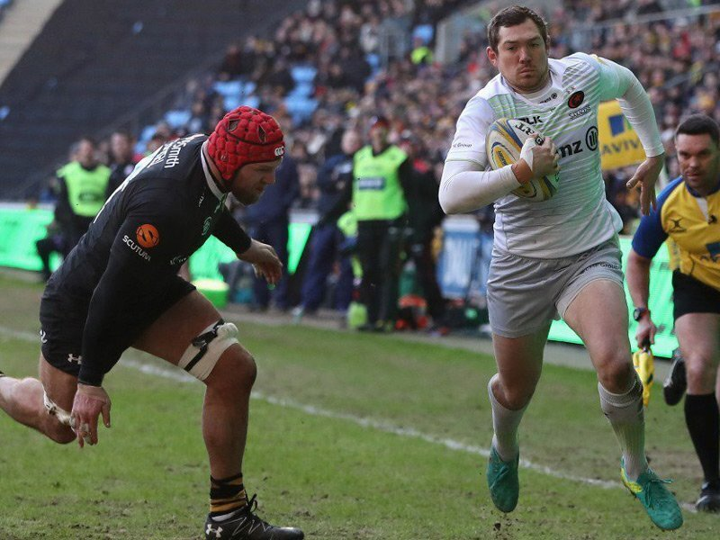 Sarries' Alex just too Goode for Wasps