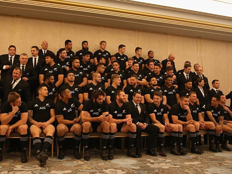 All Blacks fight for bus seats and food as depth shows