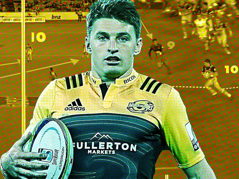 Analysis: How Beauden Barrett burns opposition halfbacks