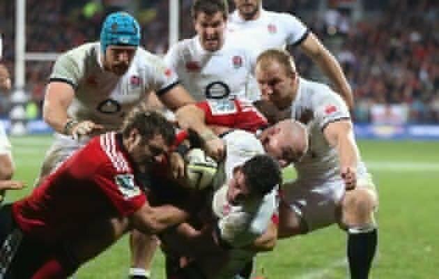 England brush Crusaders aside