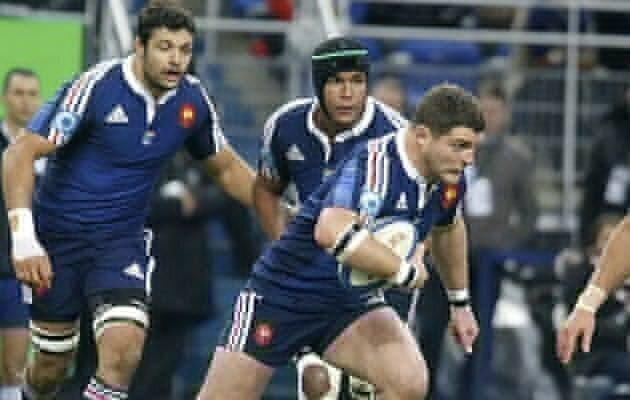 French players attacked with machetes