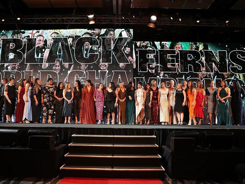 Black Ferns dominate NZ Rugby Awards